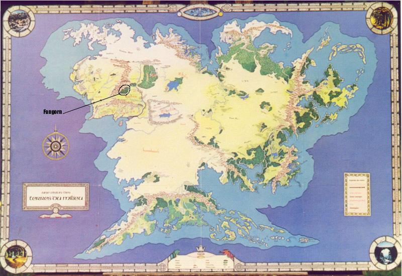 Carte Terre Du Milieu Premier Age.Le Seigneur Des Anneaux